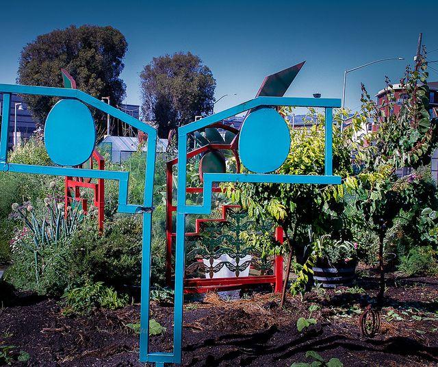 Emeryville Community Garden, SF Bay Area