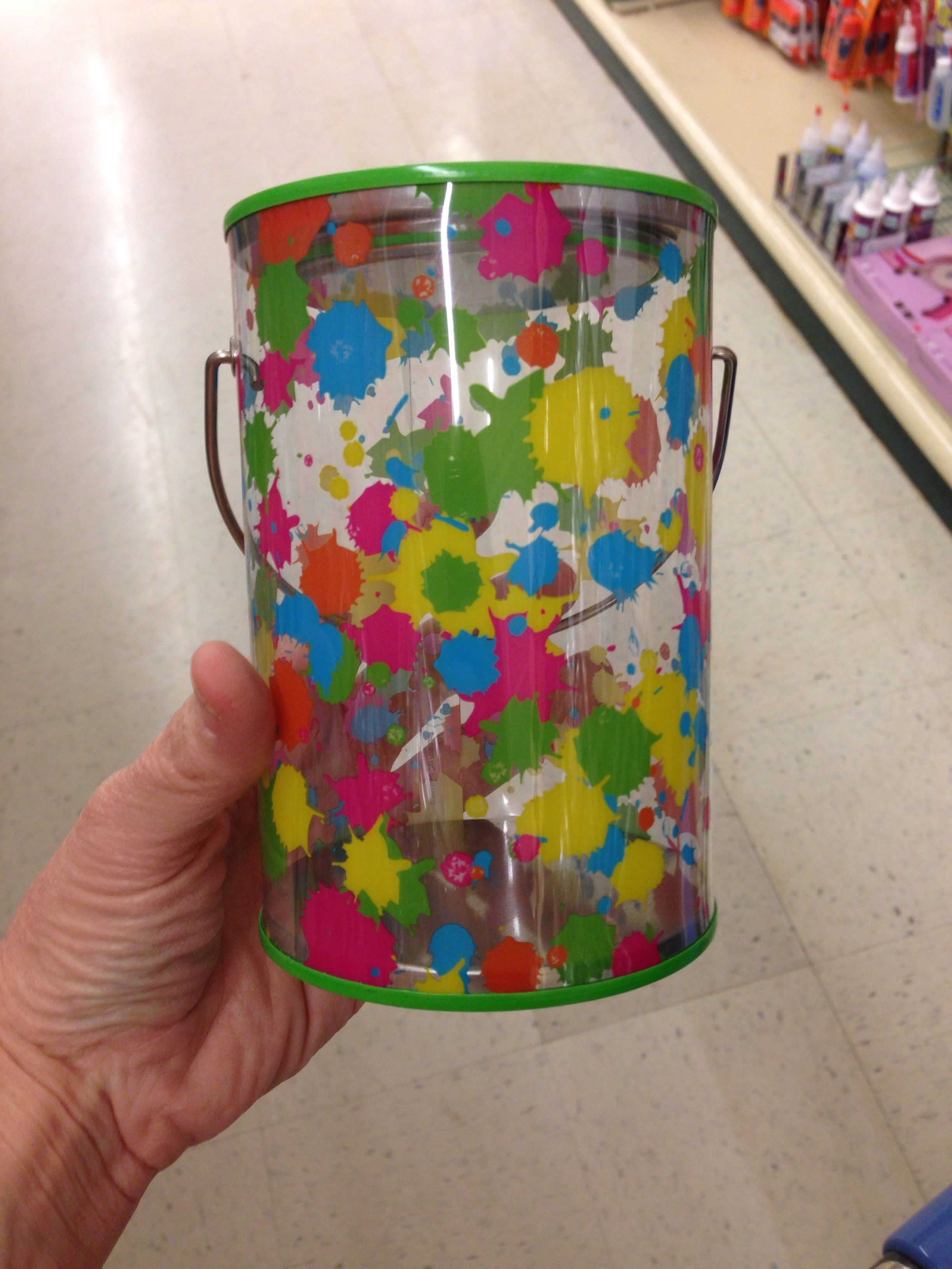 Paint Cans Found At Hobby Lobby 1 99 Paintball Party Kids Birthday Bday Party