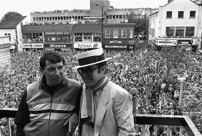 Elton John & Graham Taylor.