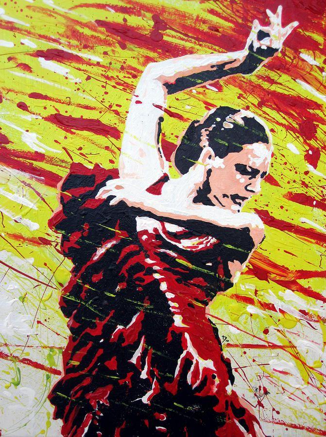Spanish Dancer by Tom Deacon Spanish dancer, Spanish art