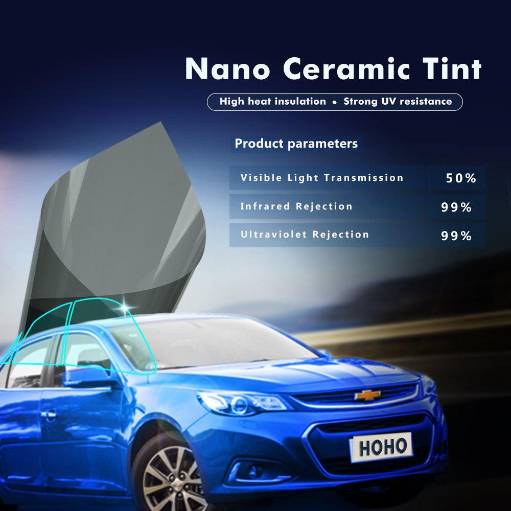 Car window coverings  xcm car side window tint film glass vlt  auto house solar