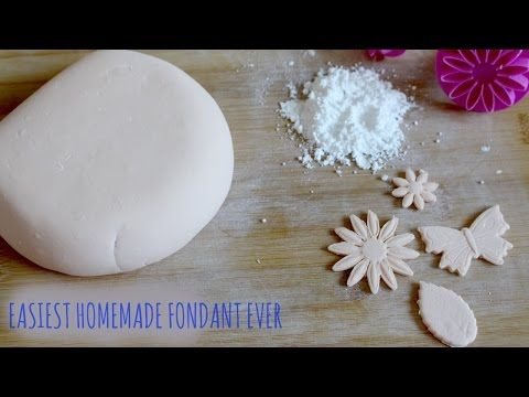 Best Ever Homemade Fondant from Scratch (without marshmallows) - YouTube