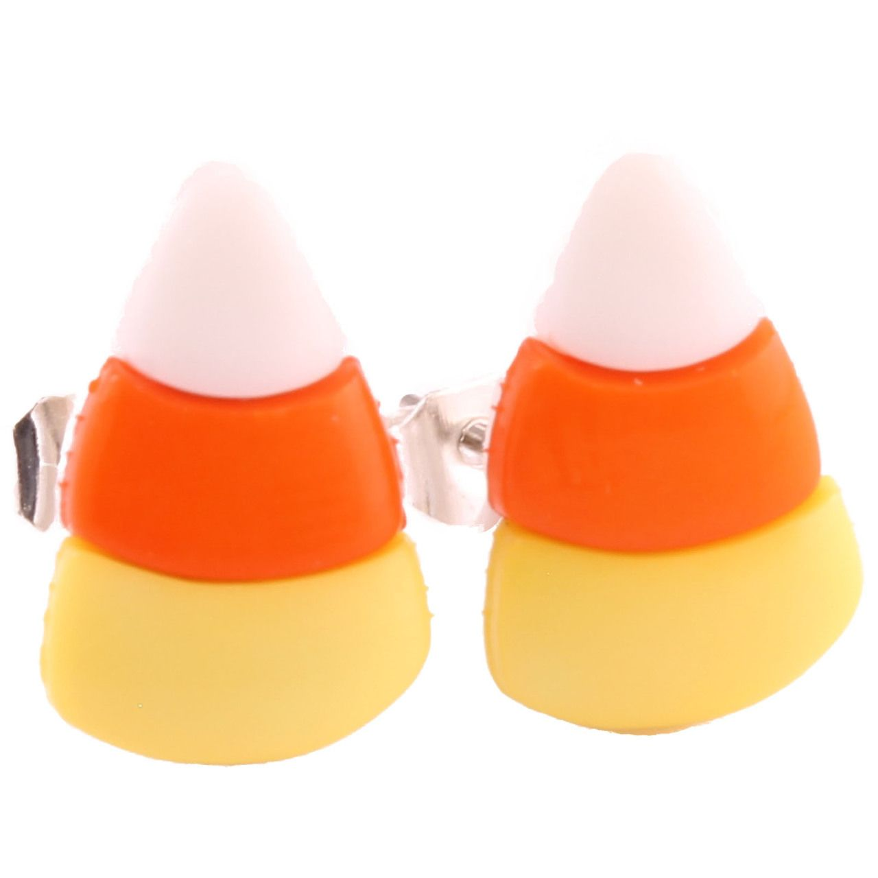 The Funky Barcode  Funky Halloween Candy Corn Earrings, £395 (http: