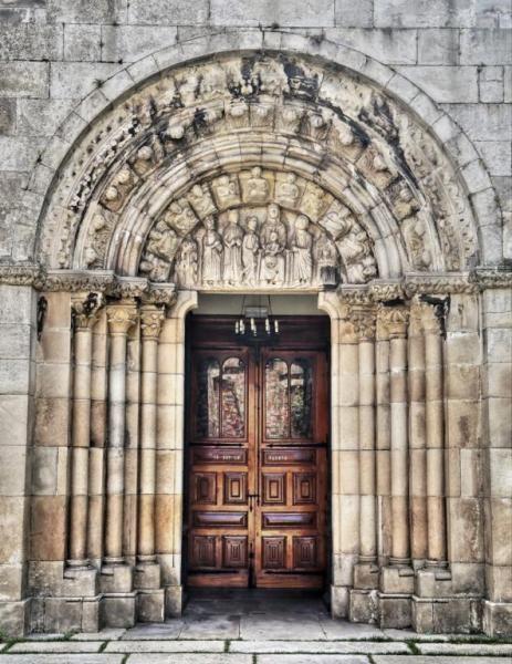 Colegiata De Santa María Del Campo A Coruña Galicia Arte España Arquitectura Antigua Arquitectura Religiosa