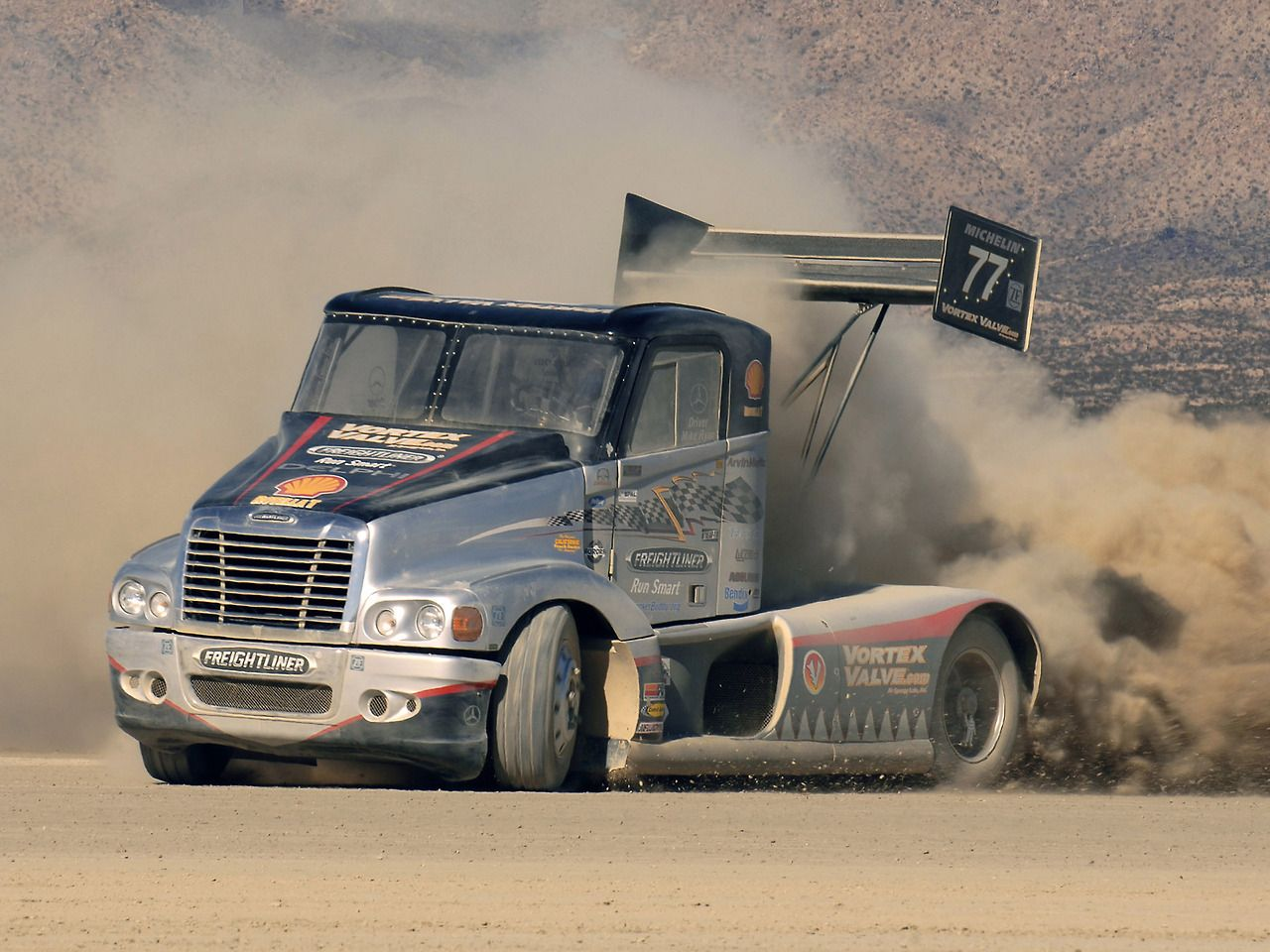 Freightliner Pikes Peak Race Truck Before The Hill