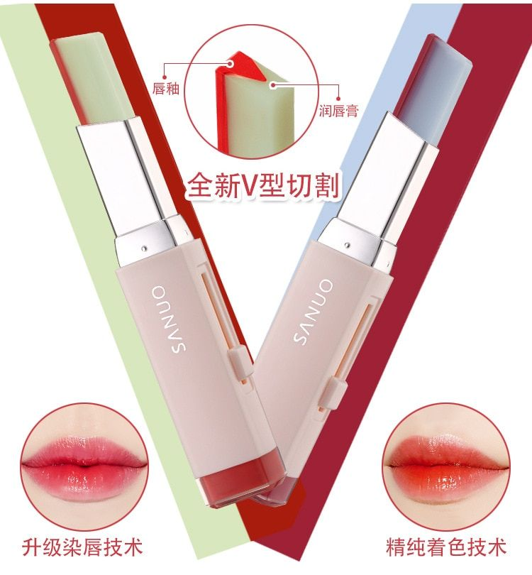 Photo of Double Color Lipstick