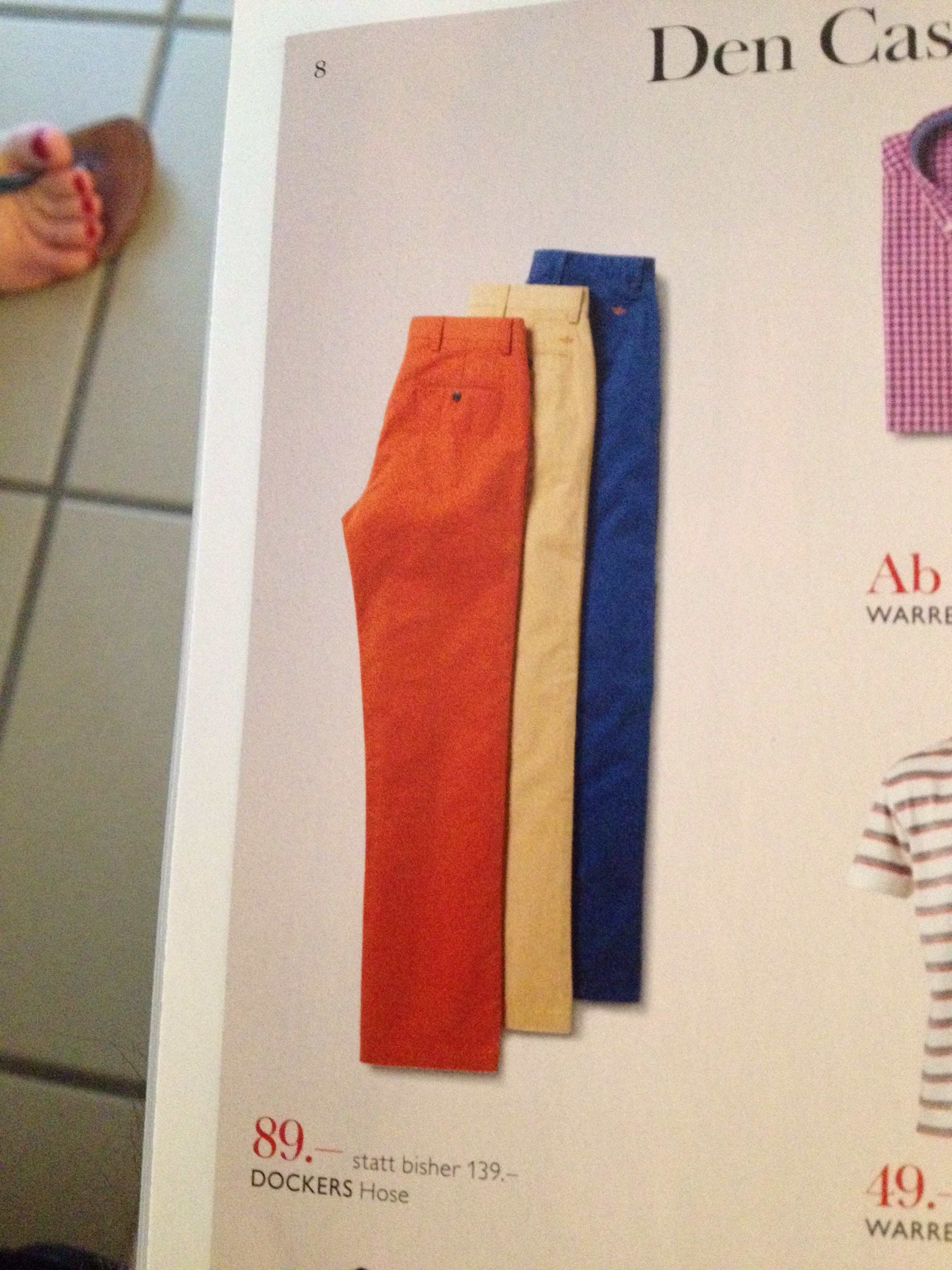 I want blue pants!!!