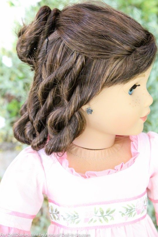 Doll Hairstyles Best We Are Doing A Little Time Traveling This Morning Featuring A
