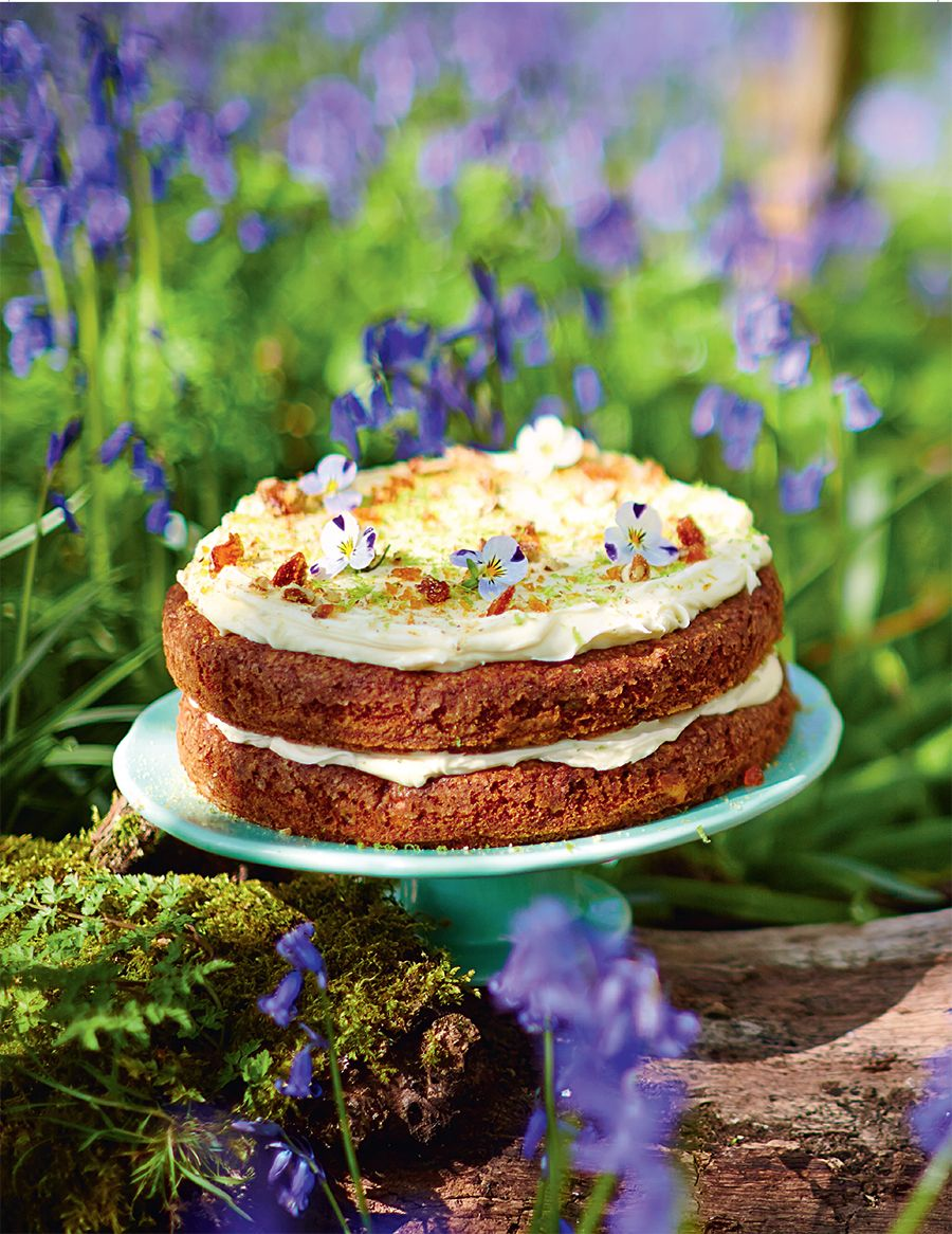 Jamie Oliver beautiful Hummingbird layer cake Cakes Pinterest