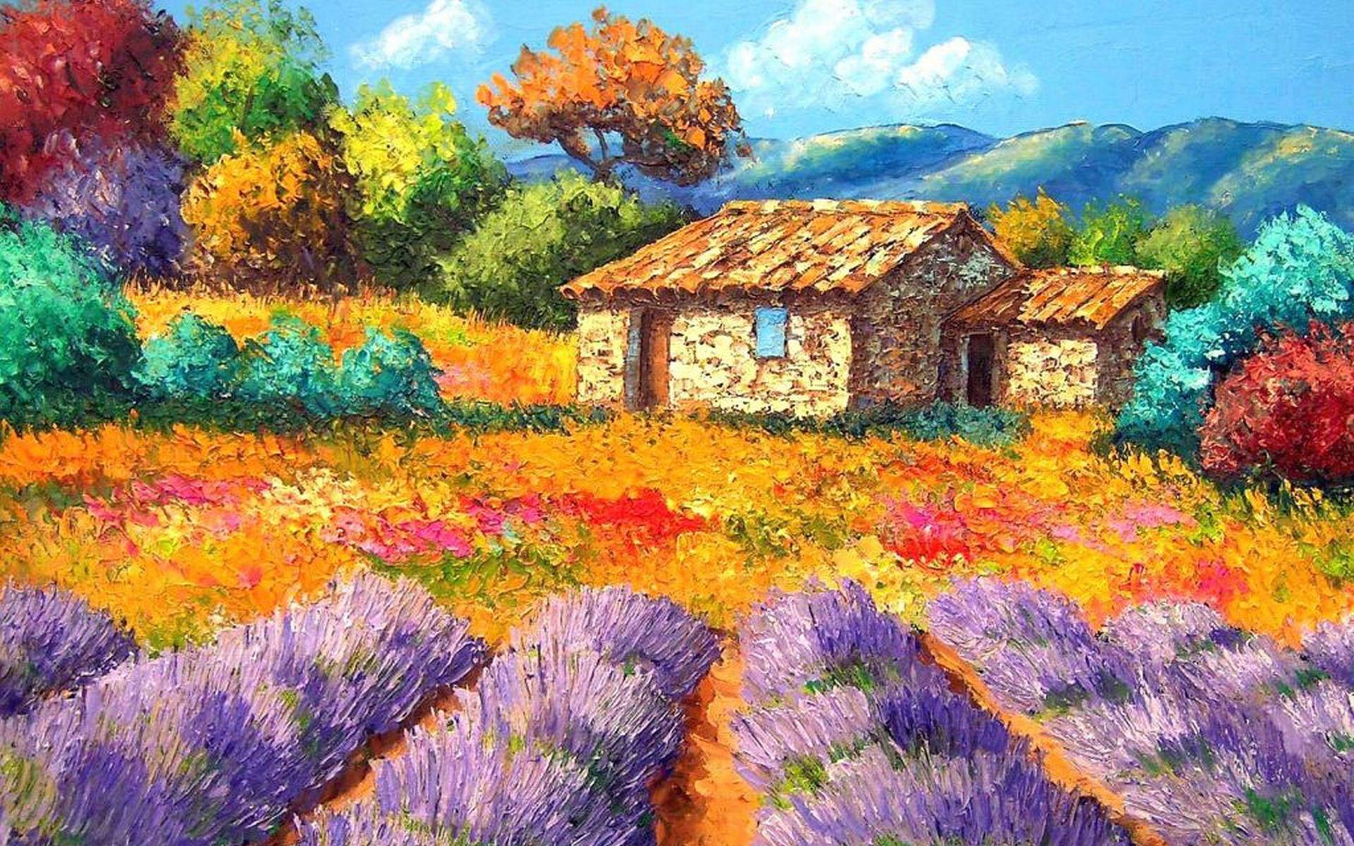 Pinturas de paisajes fondo en hd para descargar 5 en hd for Protector de pintura