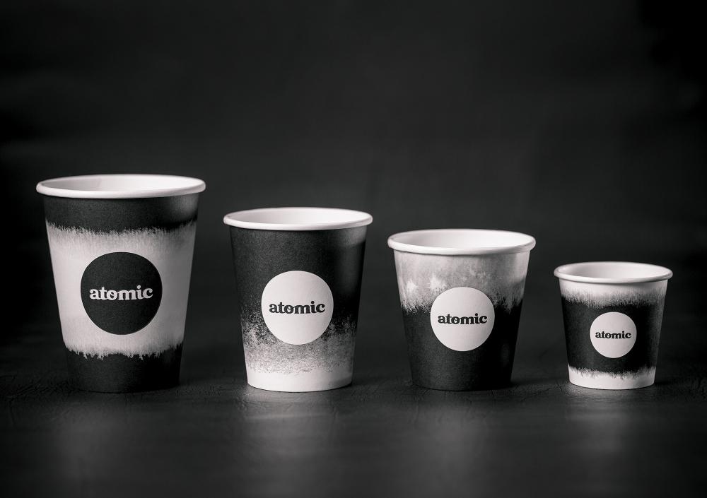 Atomic Coffee Brand Identity Fuman in 2020 Coffee