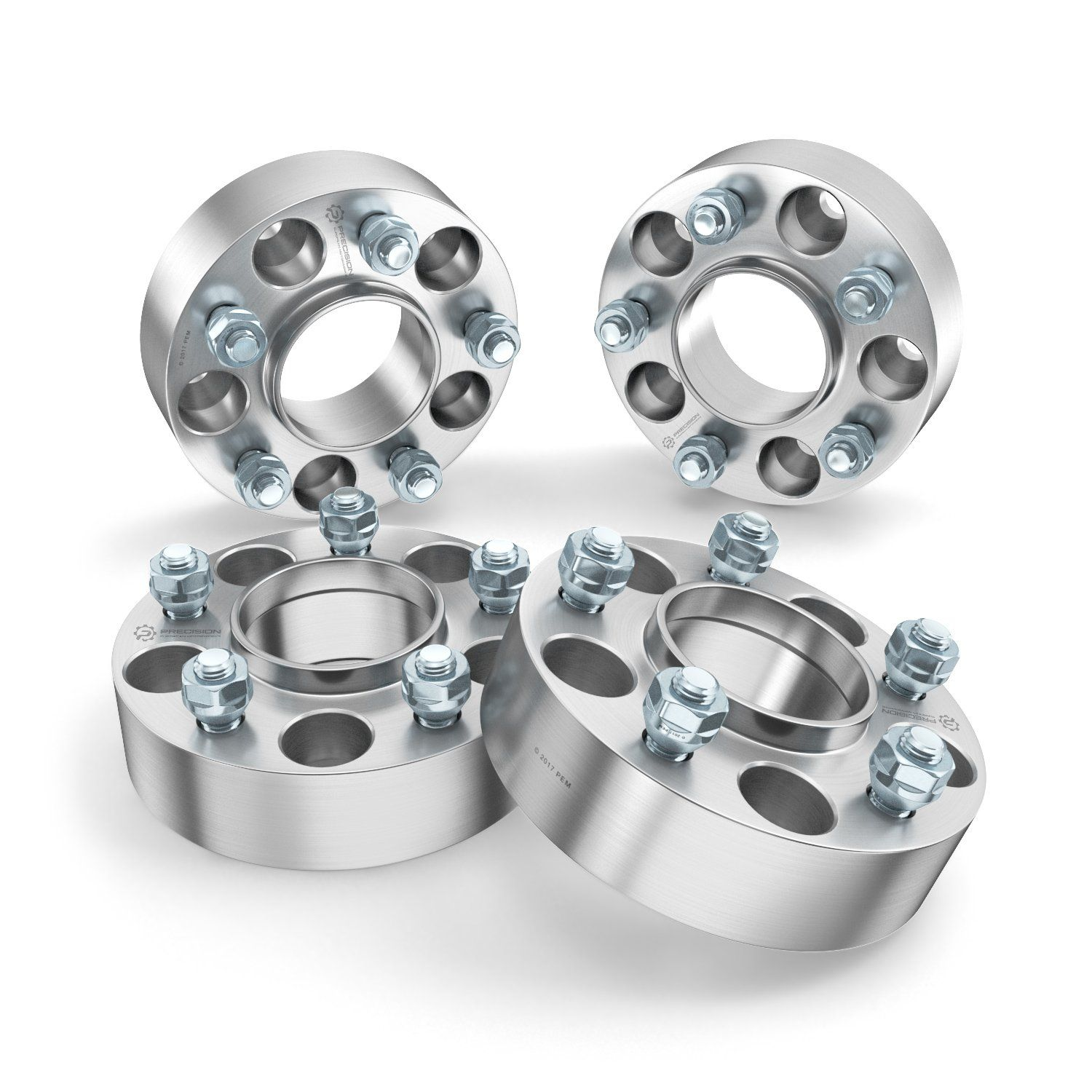 """5x135 to 5x4.5 4pc 1.5/"""" Wheel Adapters Spacers - 14x2 Coarse Studs 5x114.3"""