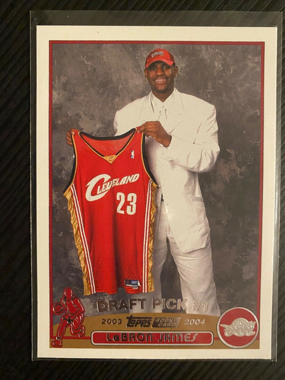 2003 topps 221 lebron james rookie rc mint in 2020
