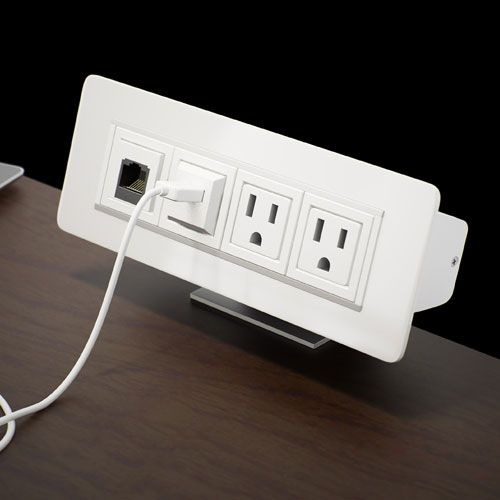 Axil x power data center in use on desk replace extra outlets on on replace electrical outlet with usb outlet to usb converter USB Power Receptacle