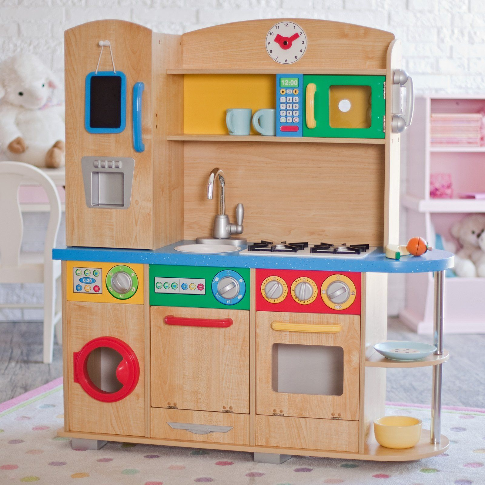 have to have it kidkraft cook together play kitchen has washer dryer also but fridge. Black Bedroom Furniture Sets. Home Design Ideas