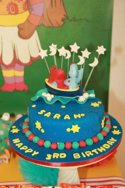 In The Night Garden Birthday Party Ideas Photo 2 Of 16 Garden Party Birthday Birthday Cake Kids Garden Cakes