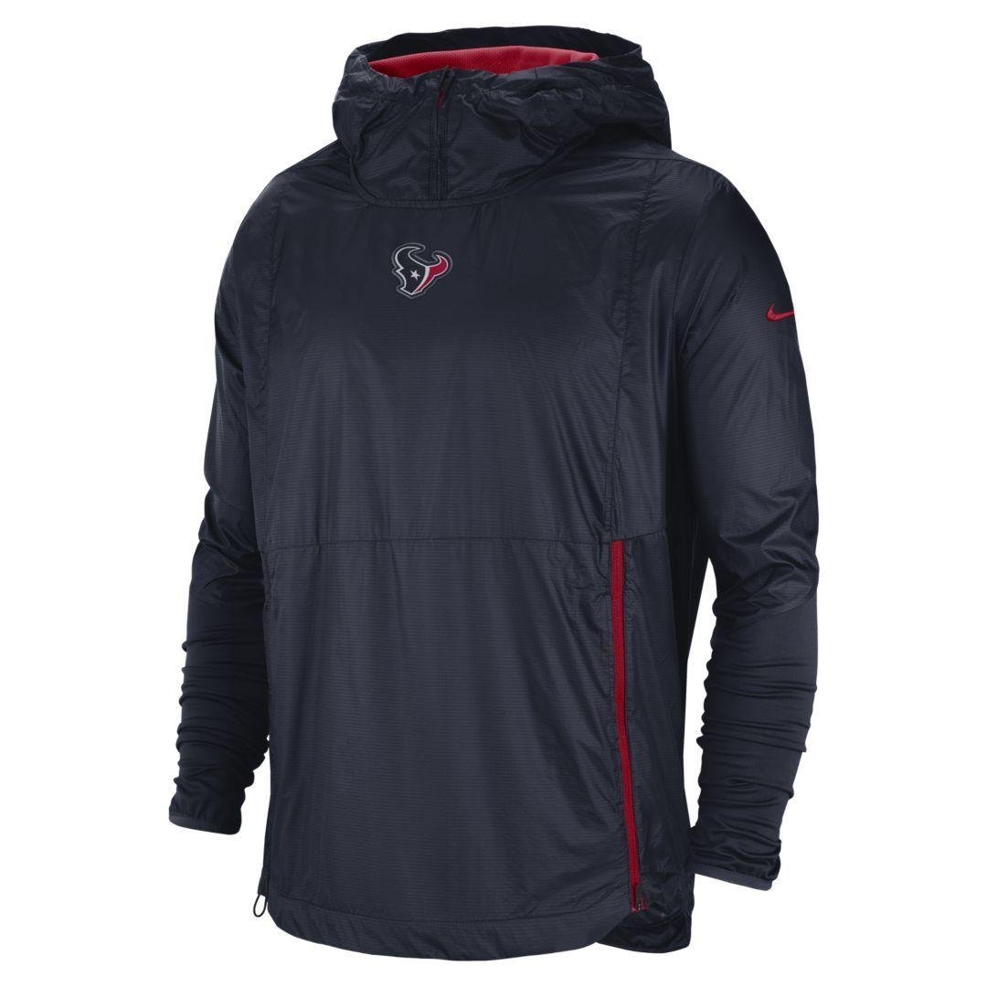 Nike Mens Houston Texans Logo Essential Hoodie