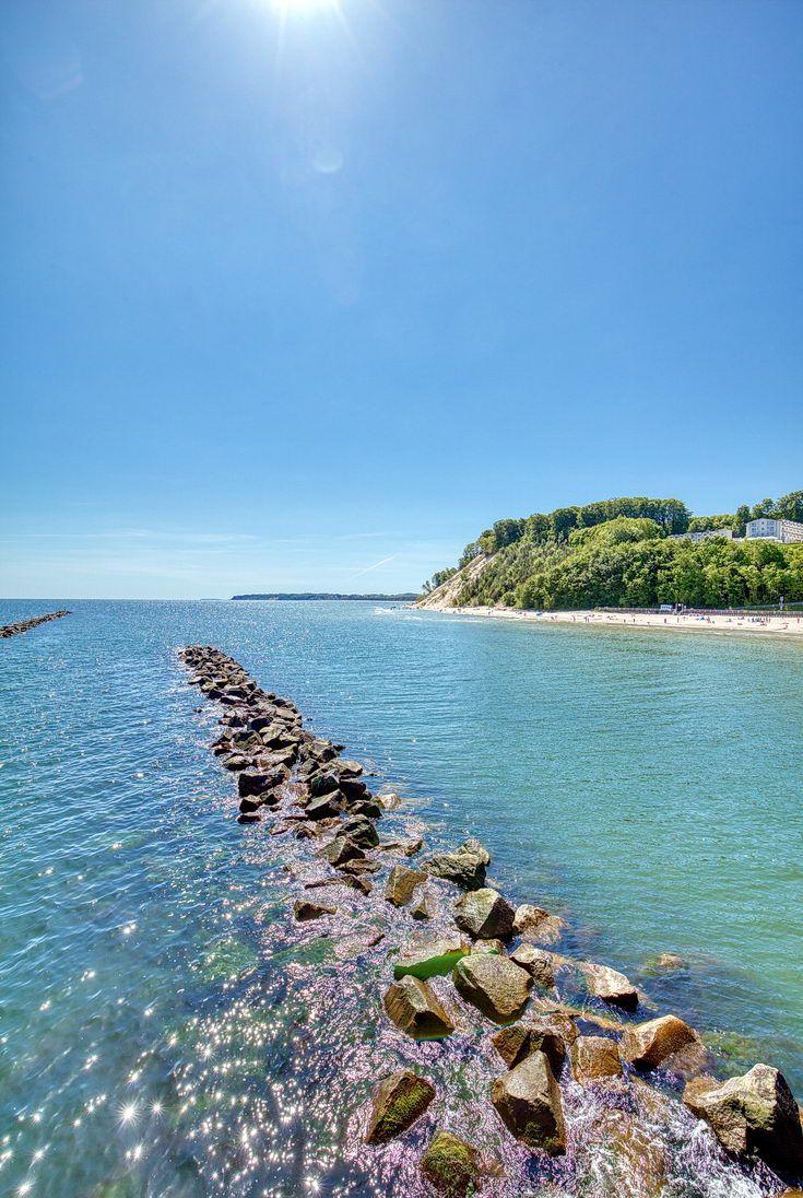 Ostseebad Sellin auf der Insel Rügen Ferien ostsee