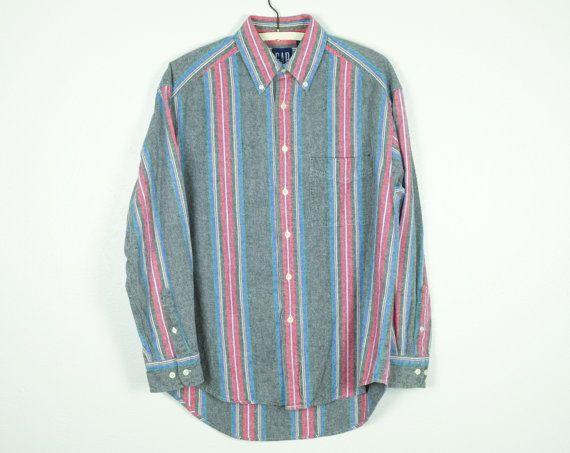 90s Vintage GAP Gingham Sleeveless Blouse w Western Style Panelling