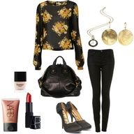 Fun dinner date outfit