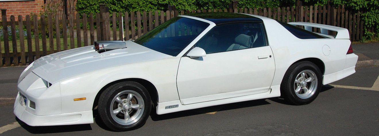 1990 Chevrolet Camaro Z28 5 7l V8 Auto In White With T Tops