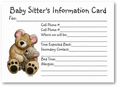 Emergency Card Template Cards Card Template Id Card Template