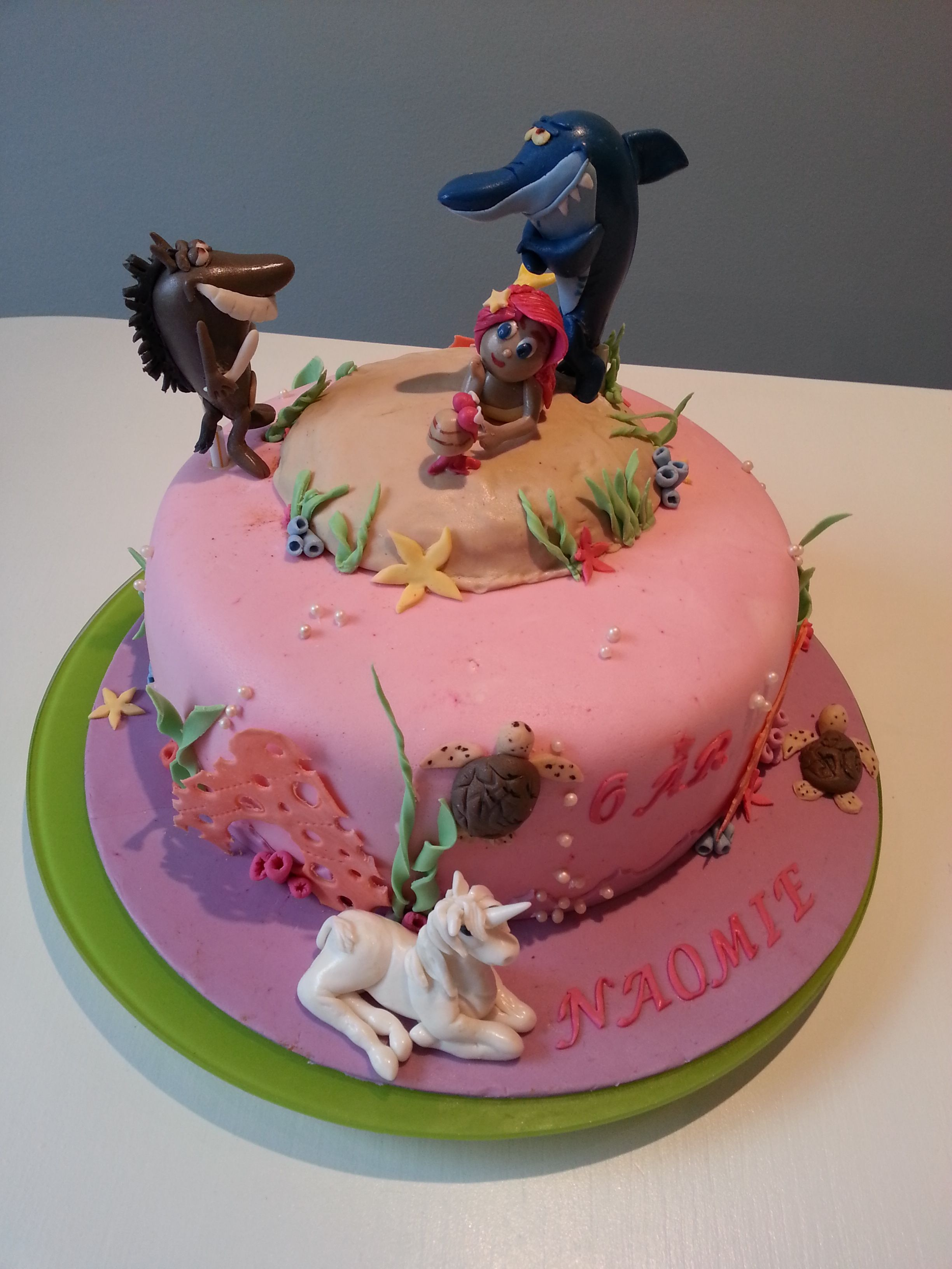 Zig and sharko cake dede things pinterest for Disegni zig e sharko