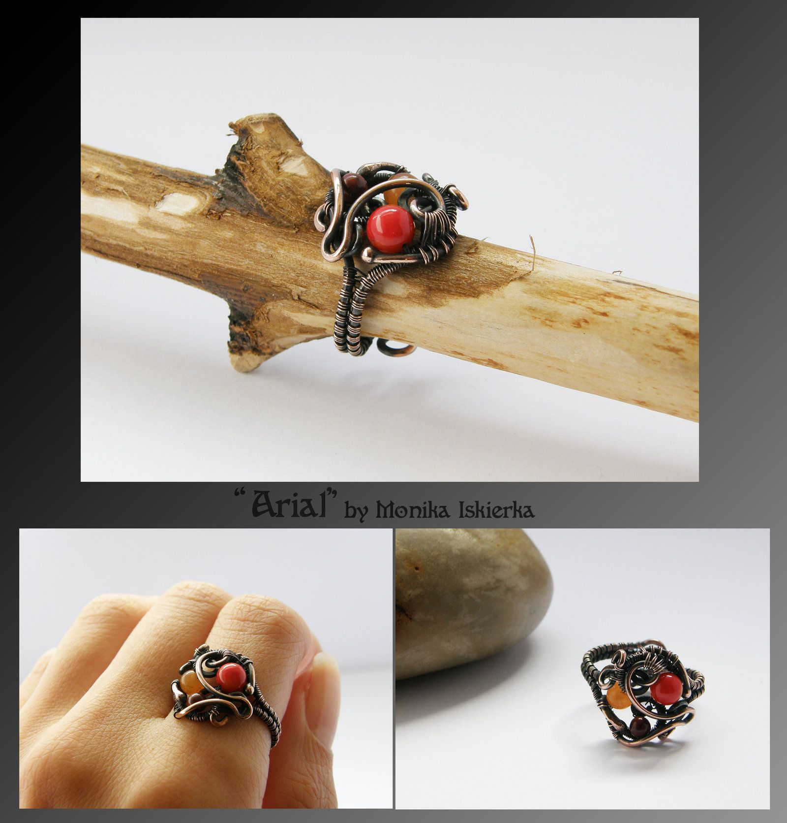 Arial- wire wrapped ring by mea00 on deviantART | Wire Wrapped Rings ...
