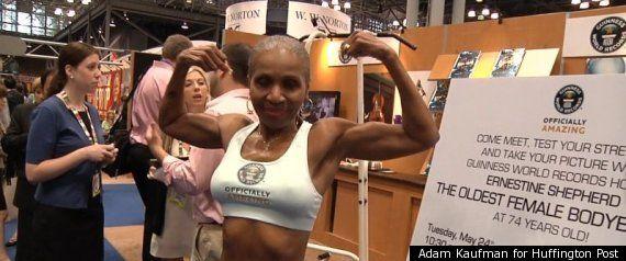 Ernestine Shepherd, World's Oldest Female Bodybuilder, Muscles Her Way Into Guinness World Records