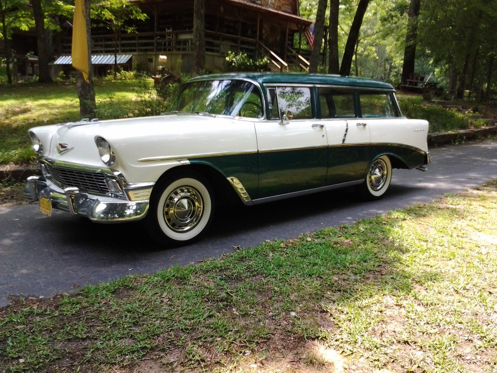 Chevrolet Bel Air 150 210 Wagon 4 Door Chevy Nomads And Wagons 1957 Station 56 Beach
