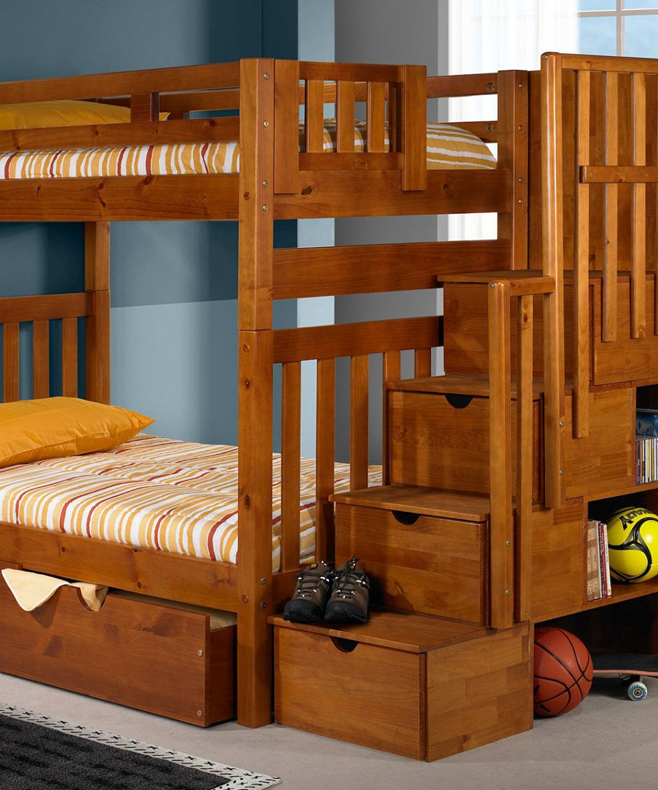 Patrick Twin Bunk Bed In 2021 Bunk Beds Wood Bunk Beds Twin Bunk Beds