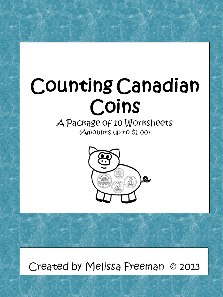 Counting Canadian Coins Worksheets | Worksheets, Count and Students