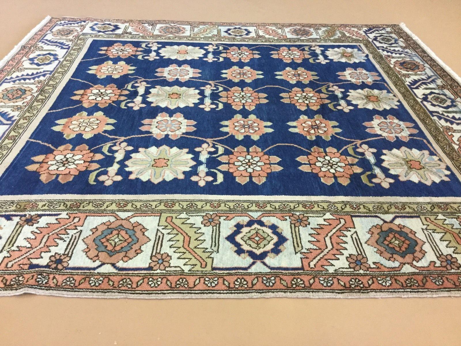 11 X 12 Square Semi Antique Persian Heri Z Persian Oriental Rug Wool Ebay Oriental Persian Rugs Rugs Wool Rug