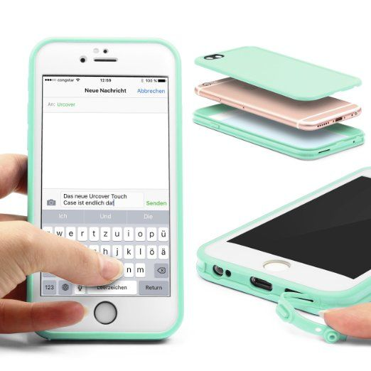 Iphone 6 Plus Schutzhulle Original Urcover Touch Case Fur Das Apple Iphone 6 Plus 6s Plus Hulle Cover Schutz Fur Vorder Und Ruckseite Telefonlar