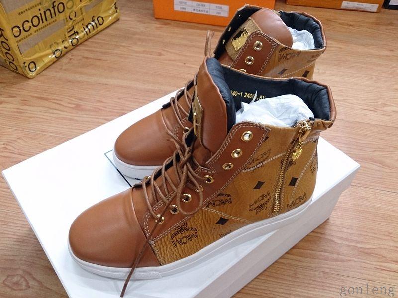 MCM fashion shoes famous brand shoes
