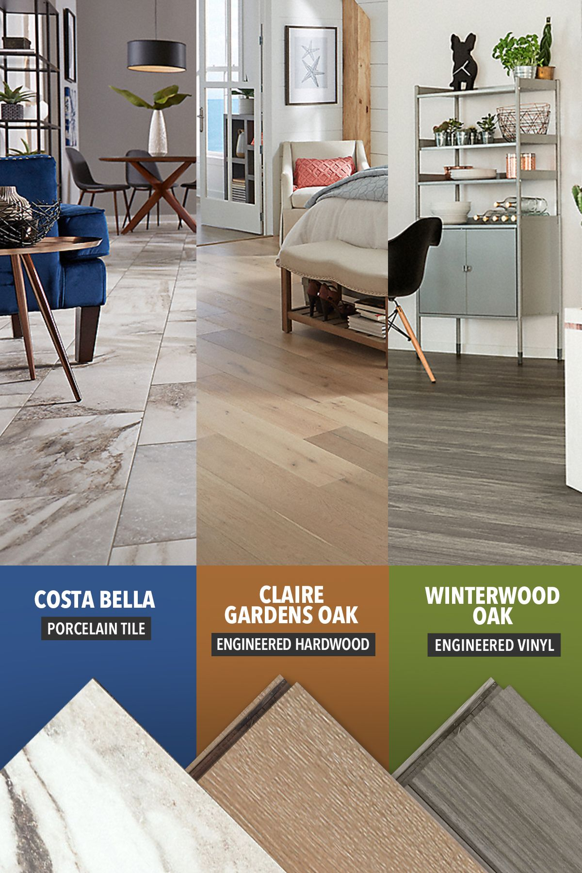 Order Your Samples From Lumber Liquidators Today So You Can Pair Your Brand New Floor With The Perfec In 2020 Engineered Hardwood Colorful Furniture Hardwood