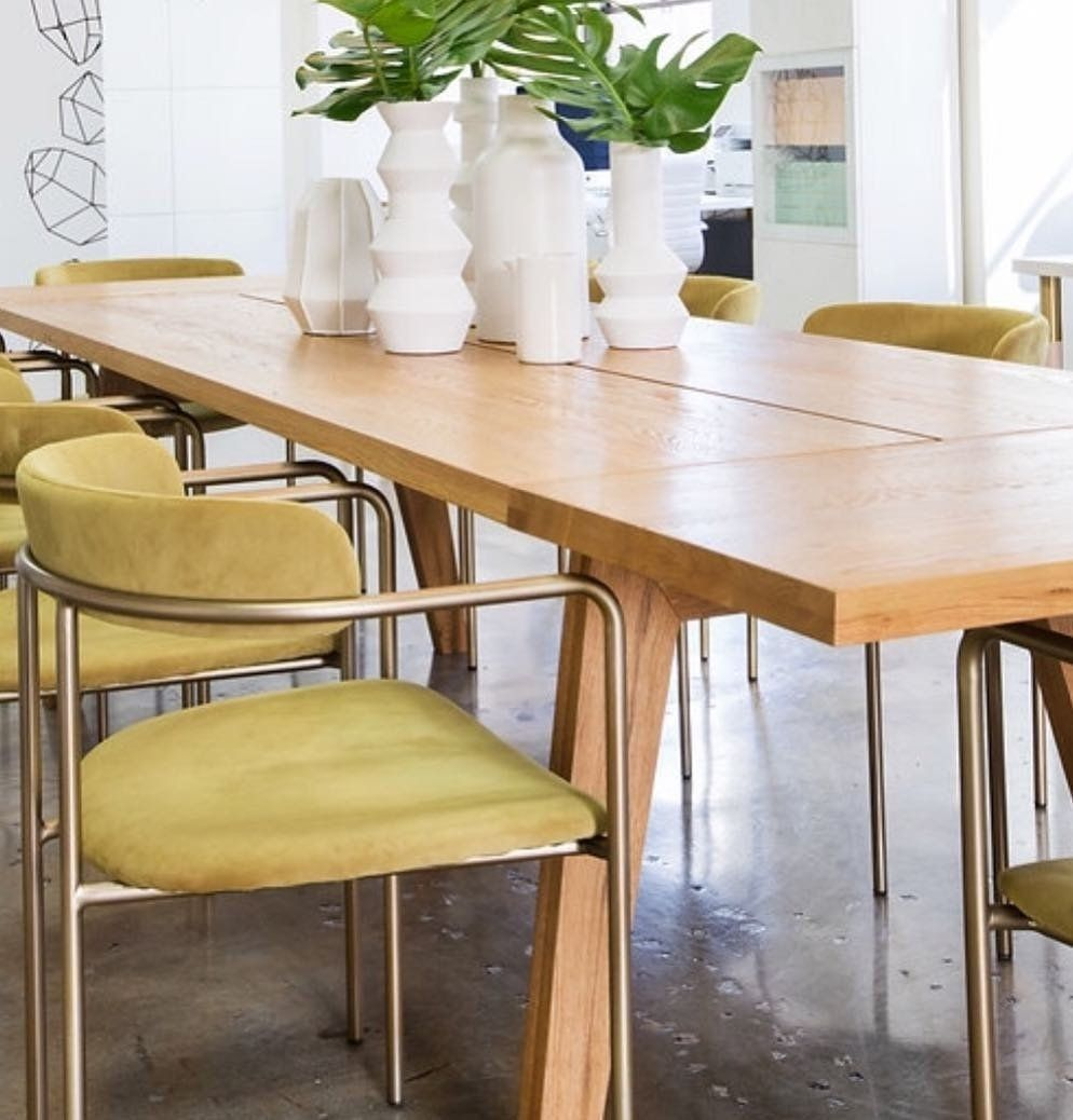 Madera Oak Dining Table Extendable Oak Dining Table Midcentury