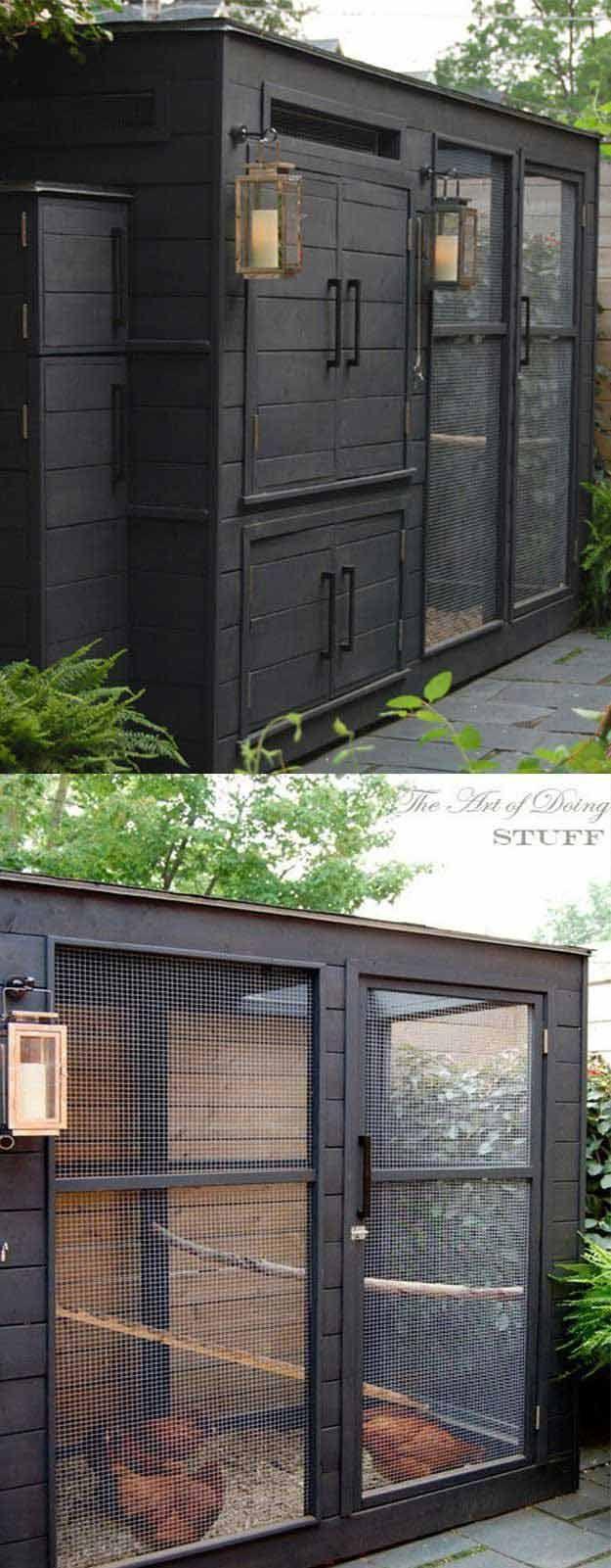 22 Low Budget Diy Backyard Chicken Coop Plans: Urban Chicken Coop, Diy Chicken Coop, Chickens