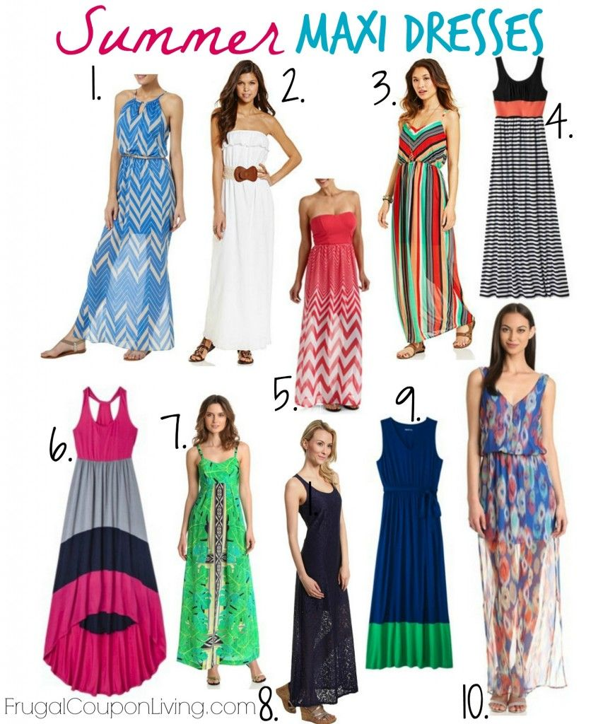 Frugal Fashion Friday Summer Maxi Dresses Round Up Cheap Maxi Dresses Maxi Dress Sale Summer Outfits Women [ 1024 x 870 Pixel ]