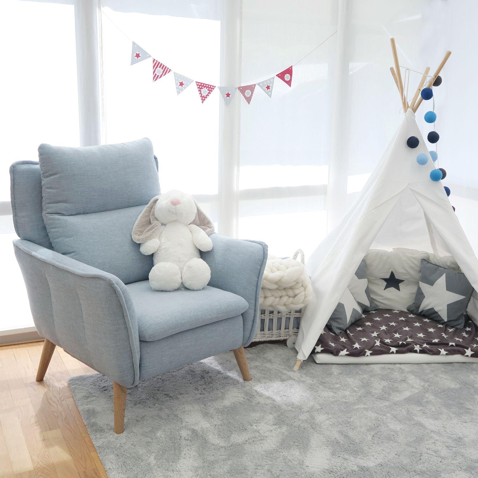 Relaxsessel Mit Liegefunktion Im Skandinavischen Stil