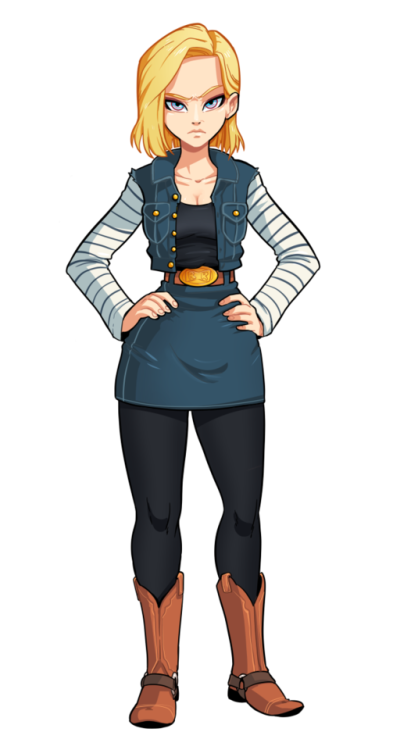 Pin en Android 18 - Dragonball Z