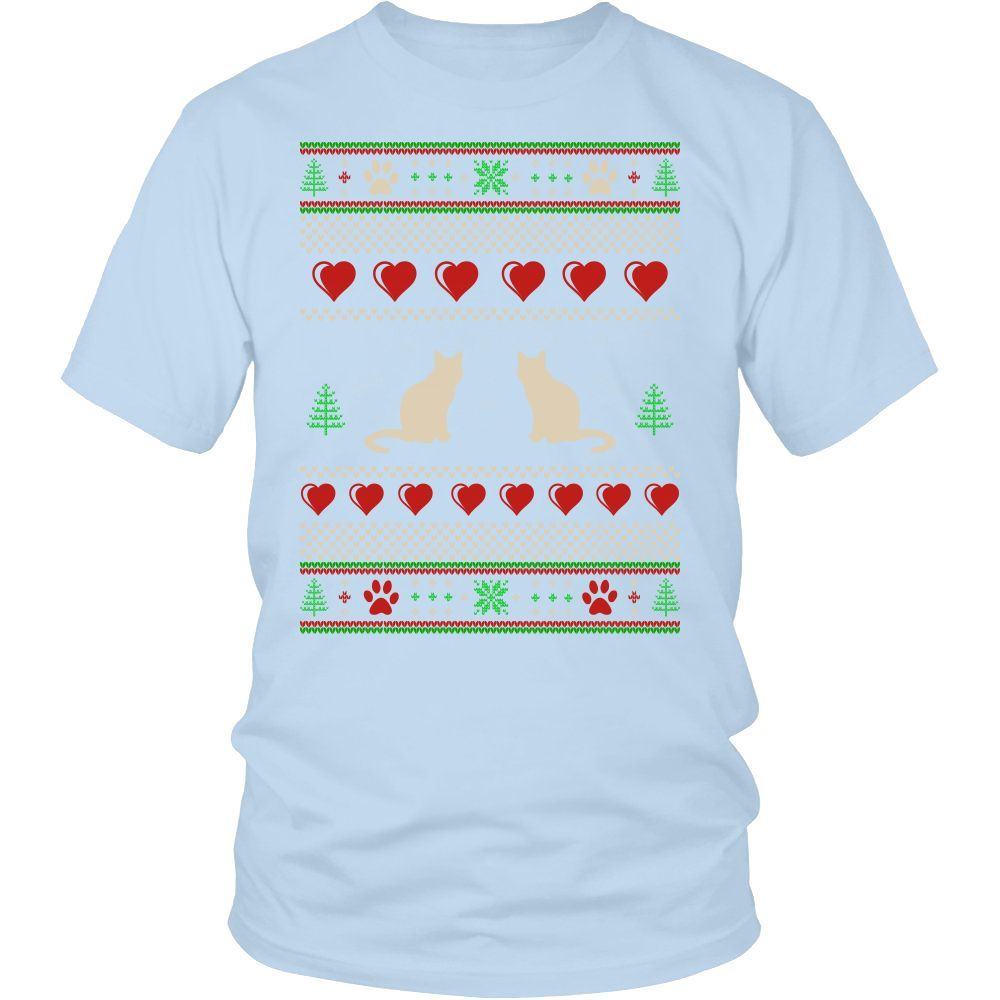 Merry Catmas (District Unisex Shirt)