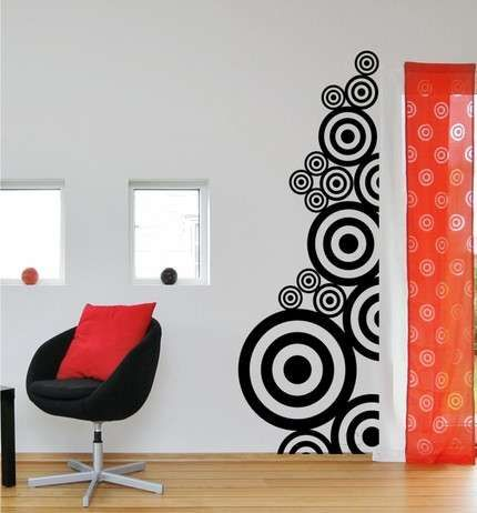 Its All About Fun Wall Art Ideas Creative Wall Painting Diy Wall Painting Simple Wall Decor