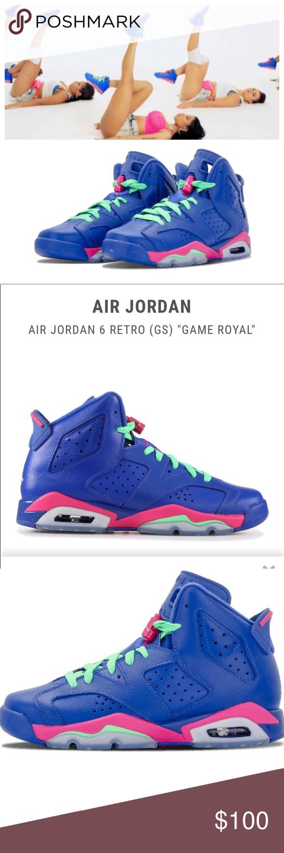 213afbed604c ... shop air jordan 6 retro gs game royal. sz 5y these jordans are featured  32c50
