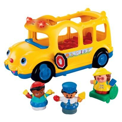 Fisher-Price Little People Lil\' Movers School Bus | Fisher price ...