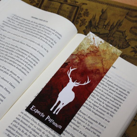 Potter ElaineillustrationDiy Art Print Harry Drawing Bookmark Par xBWQerdoCE