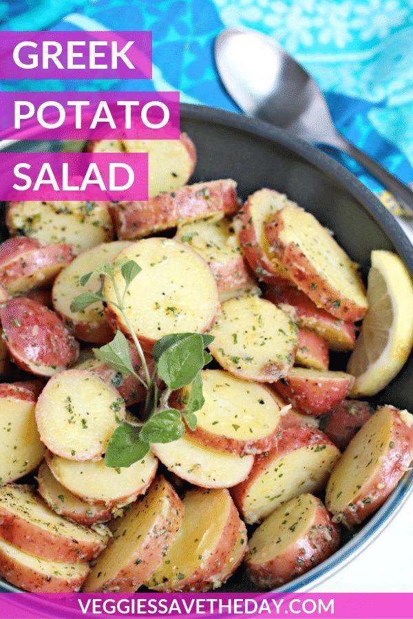 Red Skin Potato Salad Recipe No Mayo