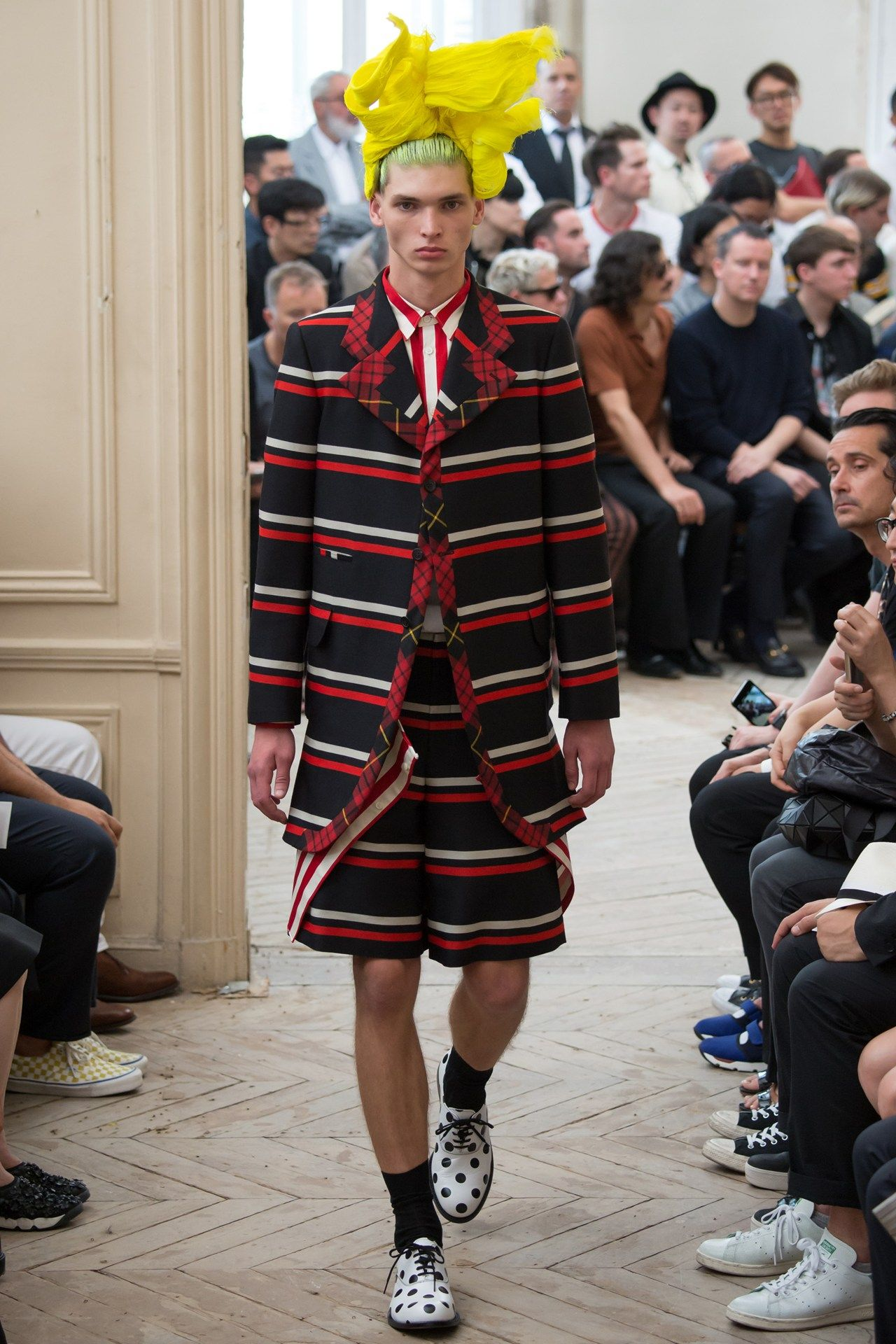 See the Comme des Garcons Homme Plus spring/summer 2016 menswear collection. Click through for full gallery
