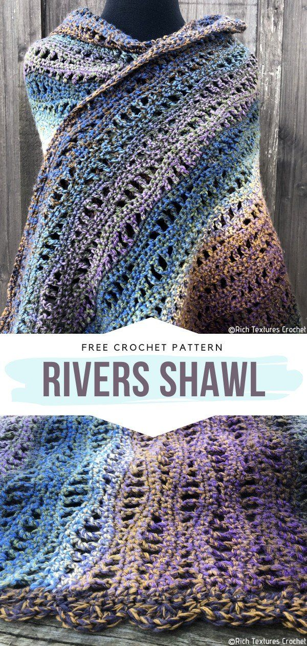 Sophisticated Shawls Free Crochet Patterns