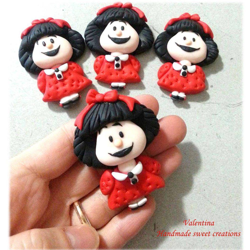 Collana con ciondolo Mafalda, by Valentina Handmadesweetcreations, 10,00 € su misshobby.com